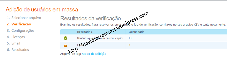 Exportando usuários do Active Directory e Importando no Office 365